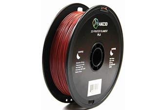 1.75mm Coffee PLA 3D Printer Filament - 1kg Spool (2.2 lbs) - Dimensional Accuracy +/- 0.03mm