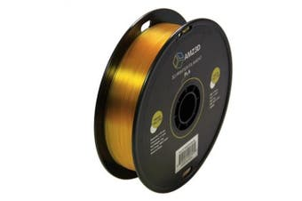 1.75mm Transparent Yellow PLA 3D Printer Filament - 1kg Spool (2.2 lbs) - Dimensional Accuracy +/- 0.03mm