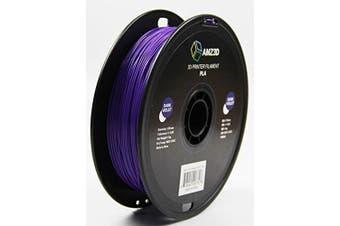 1.75mm Dark Voilet PLA 3D Printer Filament - 1kg Spool (2.2 lbs) - Dimensional Accuracy +/- 0.03mm