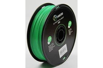 1.75mm Green ABS 3D Printer Filament - 1kg Spool (2.2 lbs) - Dimensional Accuracy +/- 0.03mm