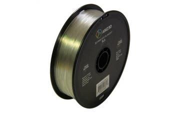 1.75mm Transparent Natural PLA 3D Printer Filament - 1kg Spool (2.2 lbs) - Dimensional Accuracy +/- 0.03mm