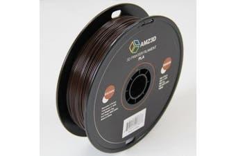 1.75mm Brown PLA 3D Printer Filament - 1kg Spool (2.2 lbs) - Dimensional Accuracy +/- 0.03mm