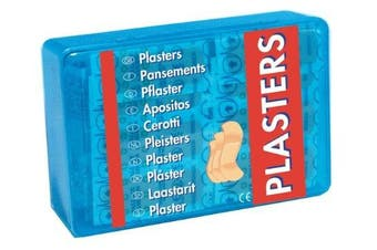 Fabric plasters of assorted sizes, PACK of 150