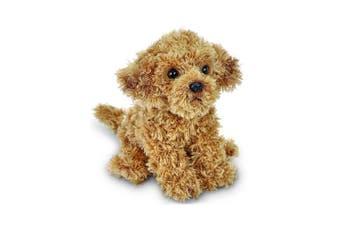 Bearington Doodles Plush Stuffed Animal Labradoodle Puppy Dog, 33cm