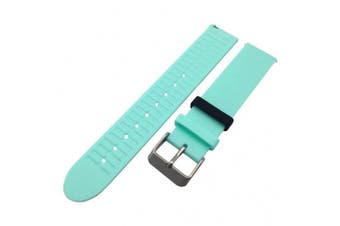 (Mint Green) - Baoblaze TPE Watchband Bandage Strap with Metal Buckle for Withings Activite Pop / Steel Smart Fitness Watch