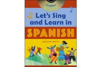 Let's Sing and Learn in Spanish (Book + Audio CD) [With CD]