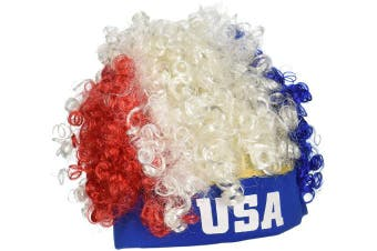 Beistle 60275 USA Wig