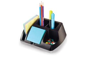 Officemate OIC Achieva Desk Organiser, Recycled, Black (26219)