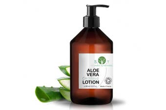 (Aloe Vera) - Organic Scented Body Lotion 260ml Body Milk Skin Care Moisturising (Aloe Vera)
