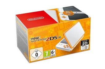 Nintendo 2DS XL white + orange