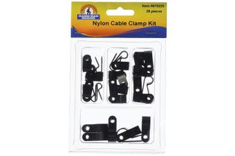 Handi-Man Marine 970225 Nylon Cable Clamp Kit