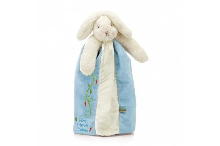 (Blossom) - Bunnies by the Bay Buddy Blanket in Pink