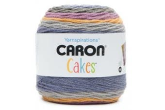 Caron Self Striping Aran Yarn, Acrylic, Plum Crisp, 15 x 15 x 15 cm