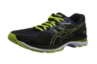 (6.5 UK, Black (Black/Sulphur Spring/Victoria Blue 9089)) - Asics Men's Gel-Nimbus 20 Running Shoes