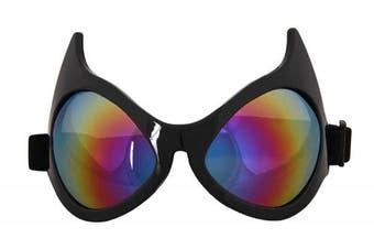 (os) - Elope Rainbow Cat Eye Goggles