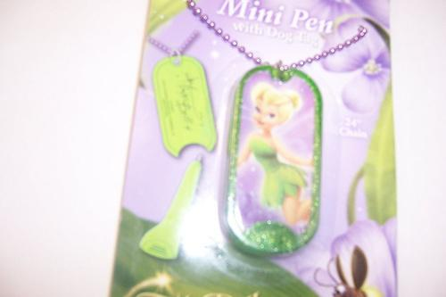 TINKERBELL DOG TAGS BRAND NEW AND READY TO SHIP