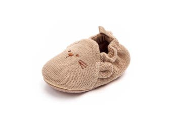 (0-6 Months, Mouse) - Lidiano Baby Non Slip Rubber Sole Slip On Knitiing Slippers Crib Shoes Infant/Toddler (0-6 Months, Mouse)
