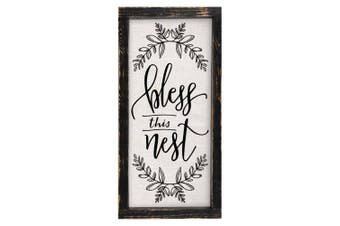 (Bless This Nest) - Brownlow Kitchen Bless This Nest Framed Linen Sign
