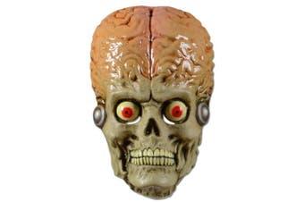 (onesize) - InCogneato Mars Adult Attacks Martian Soldier Vacuum Mask Costume