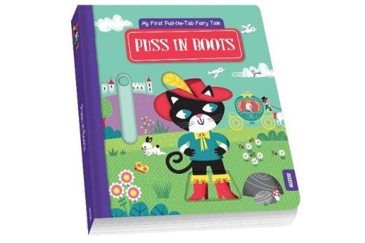 Puss in Boots: My First Pull the Tab Fairy Tales [Board book]