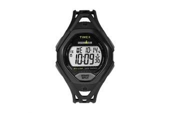 (One Size, BLACK) - TIMEX IronmanAr Sleek 30 Dual Sport Watch