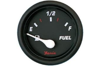 Faria Professional Red Fuel Level Gauge E-1/2/F