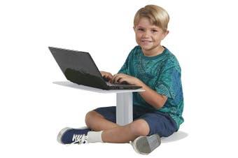 (Light Grey) - ECR4Kids The Surf Portable Lap Desk/Laptop Stand/Writing Table, Light Grey
