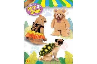 (Small) - Rubie's Walking Teddy Bear Pet Costume