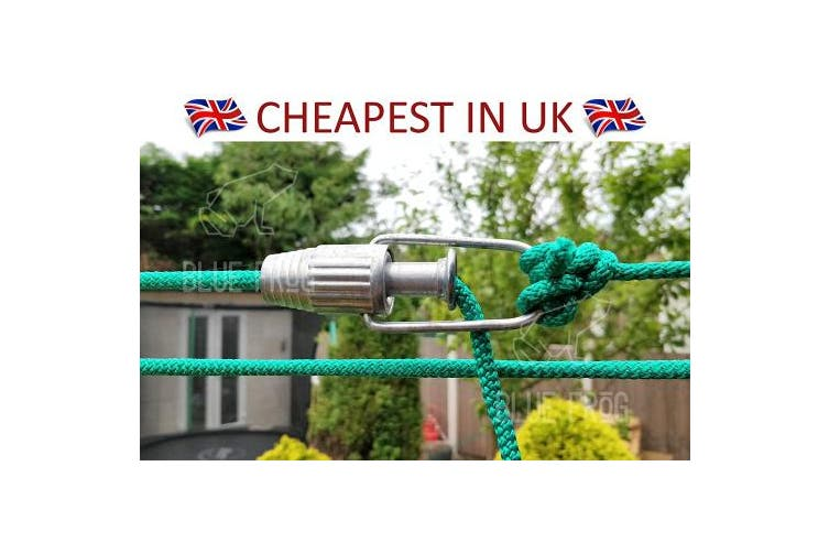 Aluminium Clothesline Rope Tightener for Pulleys and Fixed Clothes Lines, Laundry Washing line