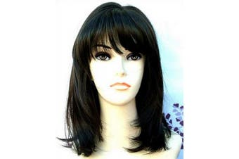 Forever Young Medium Page Style Faceframe Ladies Brown Fashion Wig