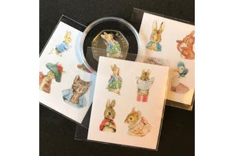 CoinCollective Beatrix Potter Coloured Decal Stickers - All 2016, 2017 & 2018