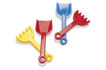 American Educational Products DT-1142 Shovel And Rake Activity Set, 5.9cm Height, 8.9cm Wide, 25cm Length