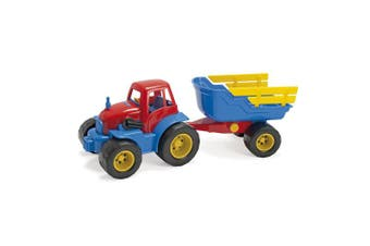 American Educational Products DT-2135 Tractor and Trailer Activity Set, 15cm Height, 16cm Wide, 42cm Length