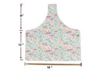 (Large) - Knitting Tote Bag Yarn Storage Organiser for Large Projects, Sweet Floral (Large)