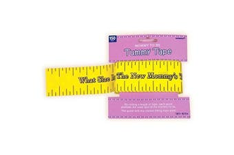 (1) - Amscan Delightful Tummy Measure Game Baby Shower Party Novelty Favours, 5.1cm x 46m, Yellow