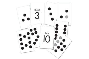 Essential Learning Products K-1 Subitizing Activity 38 Cards K-1