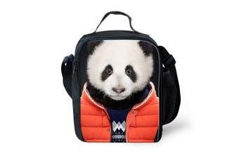 (Color-1) - Advocator Animal Print Lunch Bag Lightweight Shoulder Bag with Zipper Pocket for Girls Boys