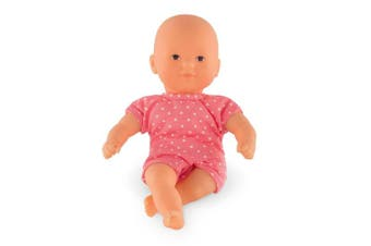 Corolle Mon Premier Poupon Mini Calin Raspberry Toy Baby Doll, Pink