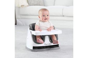 (Slate) - Ingenuity Baby Base 2-in-1 Seat, Slate