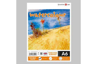 A6 Watercolour TORCHON Surface Pad Drawing Artist Paper GUMMED Book - 250gsm