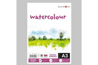 A3 Watercolour Rough Surface Pad Drawing Artist Paper GUMMED Book - 220gsm