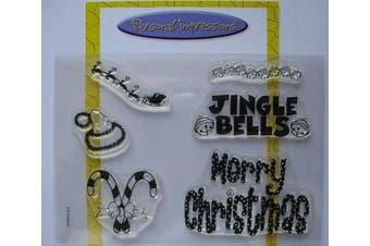 (Jingle Bells) - Art Stamps A6 Sandy Finnie Jingle Bells Stamp