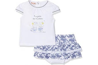 (68 cm, Blu (Blu 276)) - Brums Baby Girls' Clothing Set