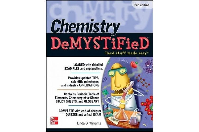Chemistry DeMYSTiFieD, Second Edition (Demystified)