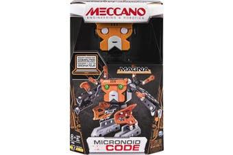 (magna) - Meccano-Erector - Micronoid Code Magna Programmable Robot Building Kit