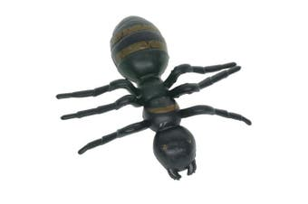 Cooplay 20pcs Fake Big Ant GiantAnts Queen Black Plastic Mock Reptile Insects Joke Toys Prank Scary Trick Tricky Brains For Halloween Party