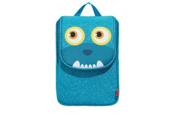 (Lunch Bag, Blue) - ZIPIT Wildlings Lunch Bag for Children, Blue
