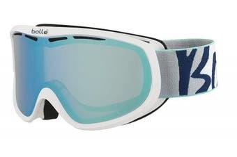 (Small/Medium, Purple/White) - Bollé Sierra Women's Outdoor Skiing Goggle