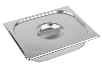 (176 x 108 mm) - Cover GN 1/9 10,8 x 17,6 cm stainless steel