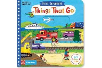 Things That Go (First Explorers) [Board book]